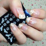 2-Pack-3D-Nail-Stickers-White-Flowers-Adhesive-Nail-Art-Decals-NA0045