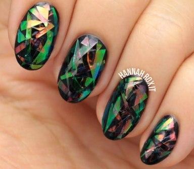 Ногти дизайн камни фото