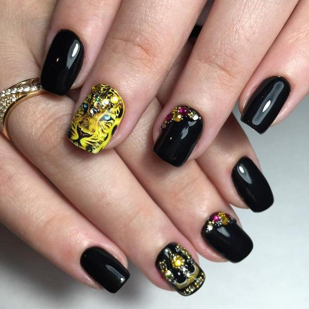 Фото дизайна ногтей гель лаком пошагово