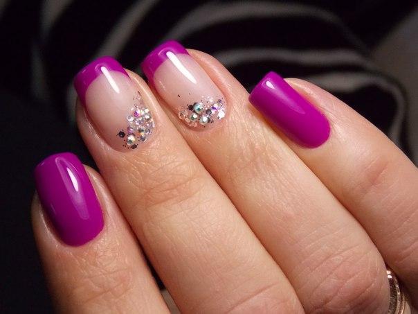 Идеи дизайна ногтей лаком фото