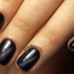 Фотографии ногтей с гель-лаком кошачий глаз