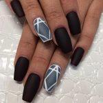 Матовые ногти — фото дизайна