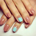 Фото гель-лака на коротких ногтях