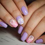 Дизайн квадратных ногтей