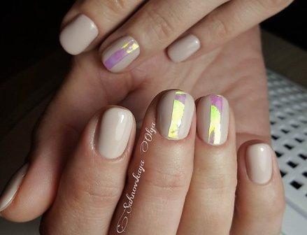 Модный маникюр на коротких ногтях 2016 (фото)