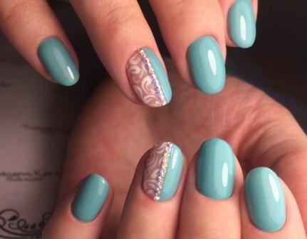 маникюр на короткие ногти фото дизайн 2016